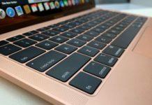 MacBook butterfly keyboard