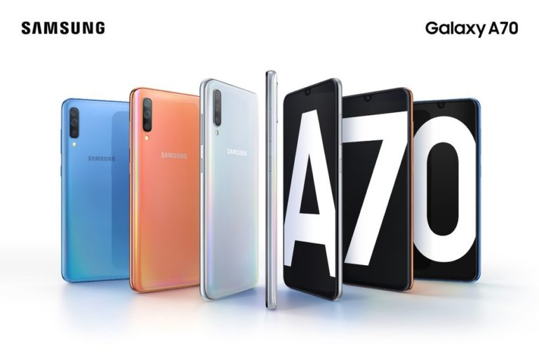 Samsung Galaxy A70 with in-display fingerprint sensor, Android 9.0 Pie launched: Price and Specifications