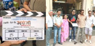 Angrezi Medium shooting starts