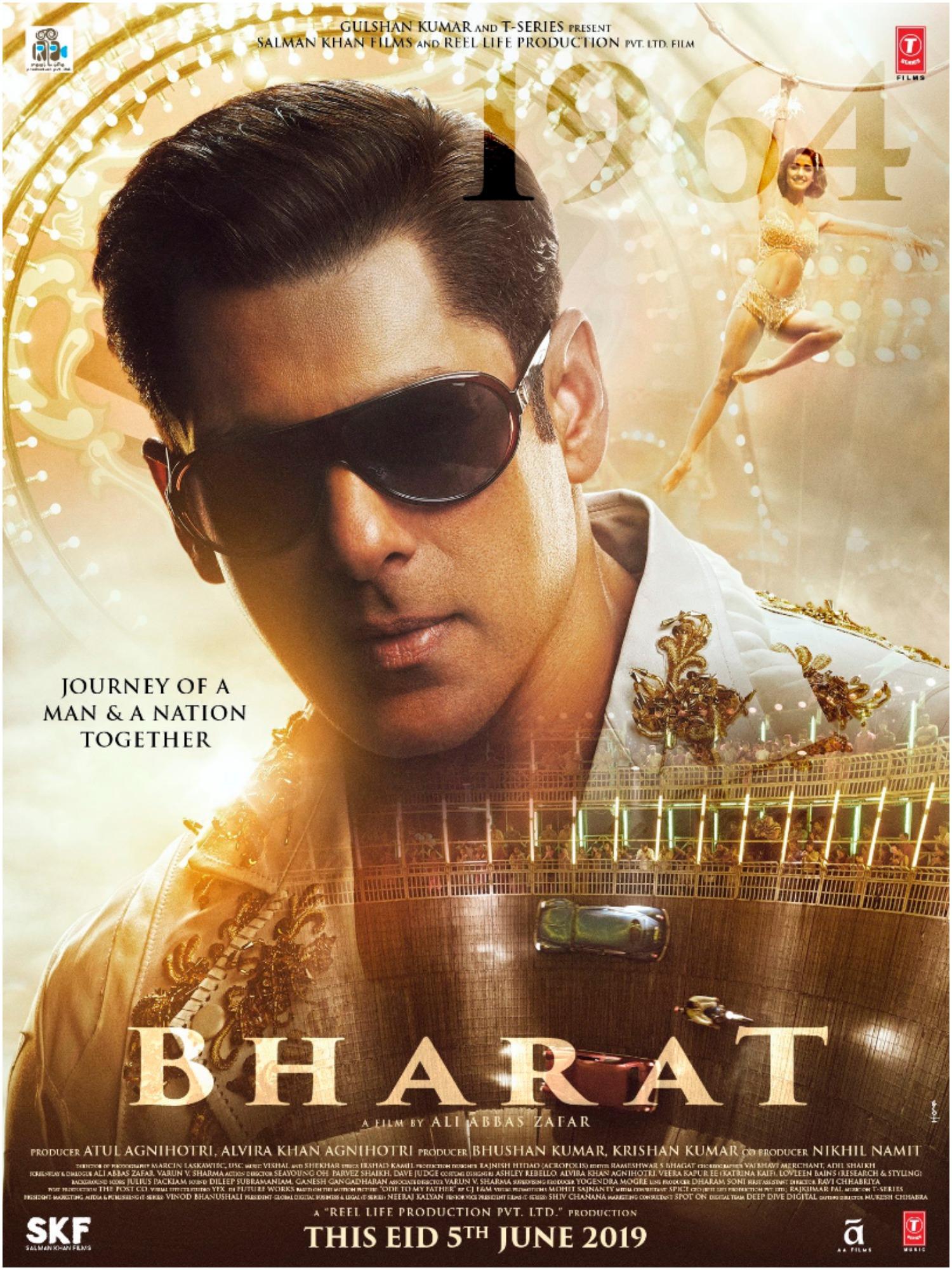 Bharat- new poster