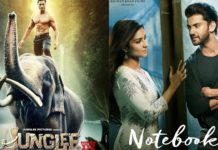 Junglee and Notebook- 1st weekend collection