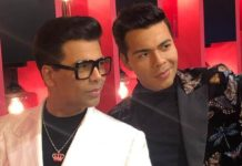 Karan Johar at Madame Tussauds Singapore