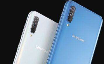 Samsung Galaxy A50, Samsung Galaxy A70