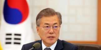 Moon Jae-in calls for safe zone between two Koreans