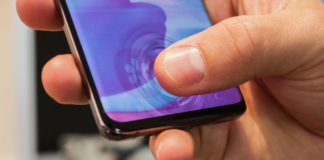 Samsung Galaxy S10 fingerprint scanner