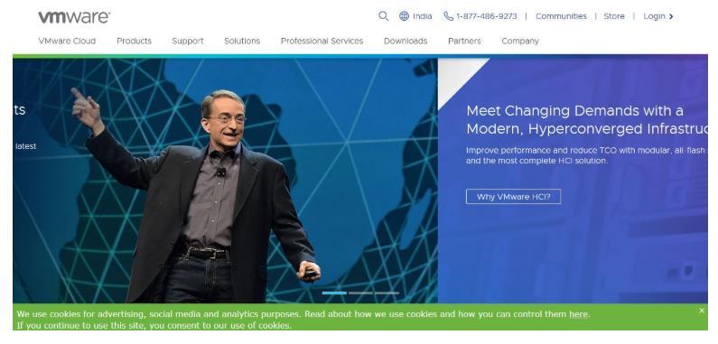 vmware homepage