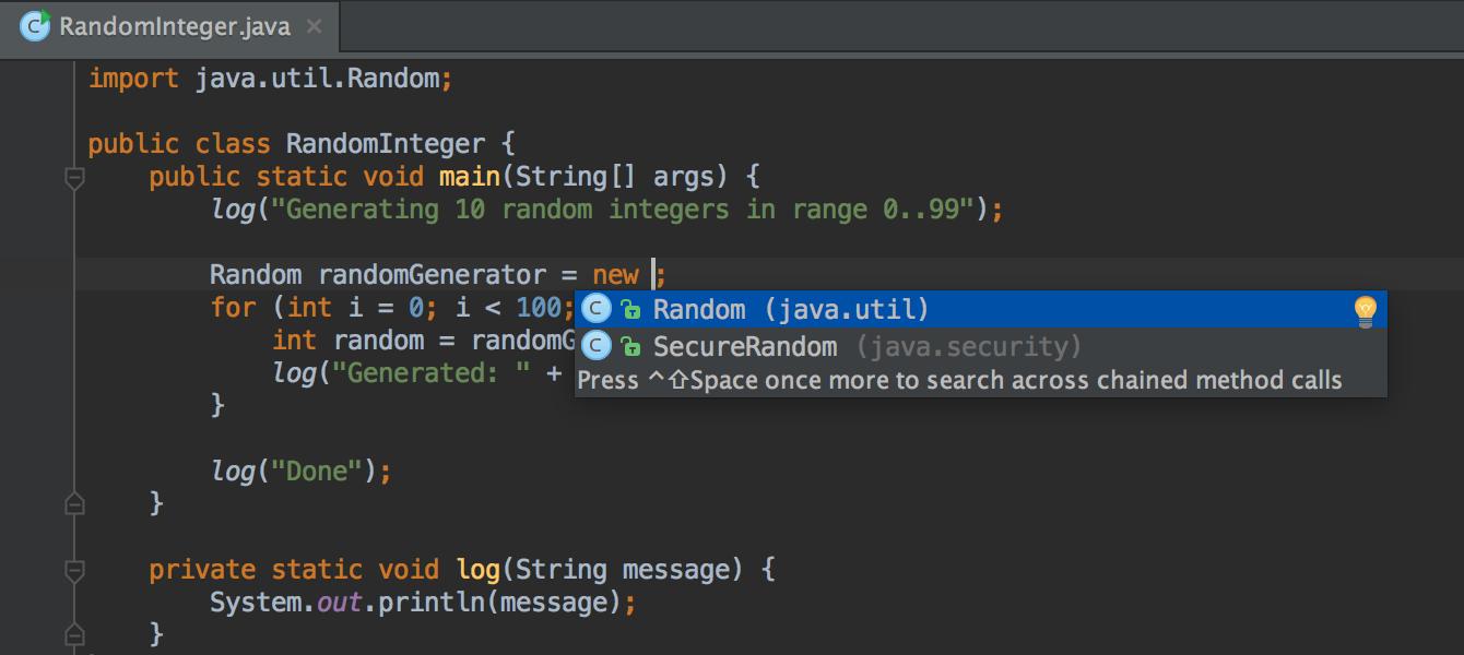 Intellij IDE for Java