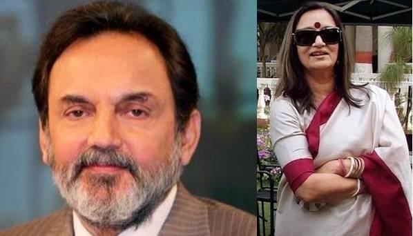 Prannoy Roy and Radhika Roy