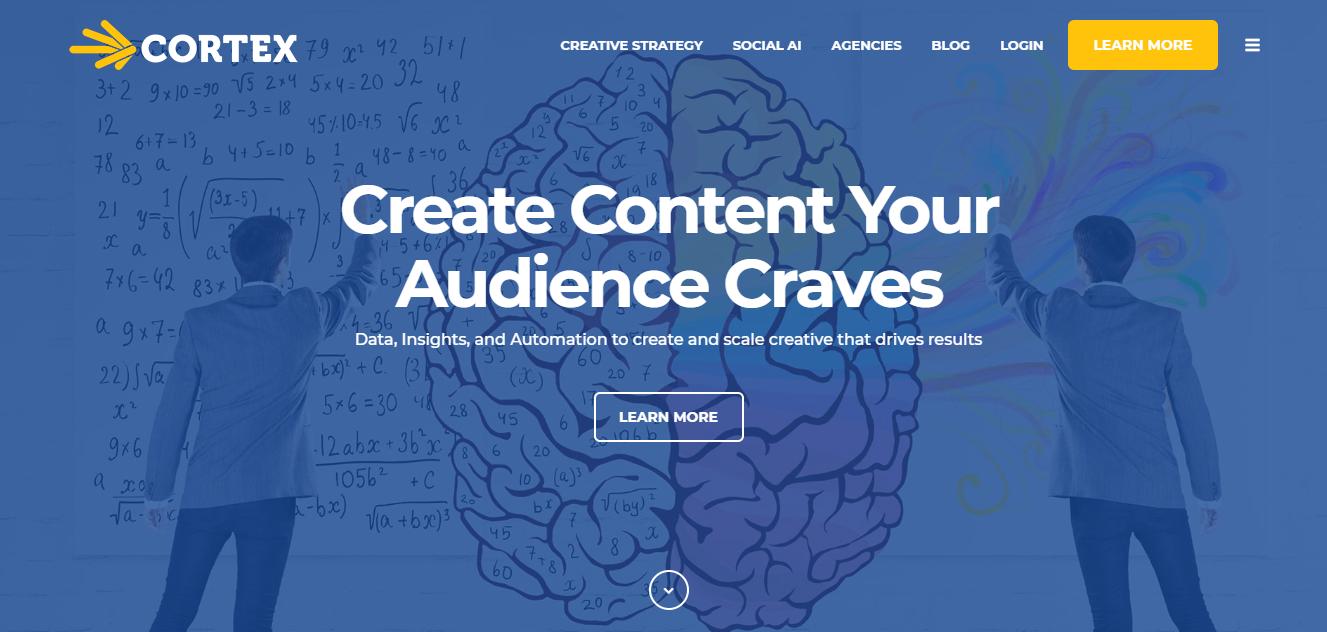 Cortex Homepage