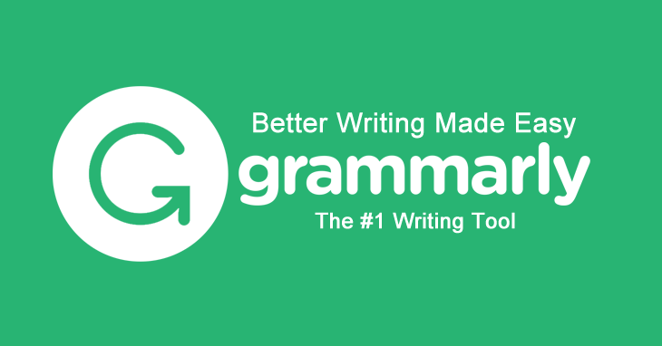 Grammarly is a writting AI assistant to help with grammar of the content.