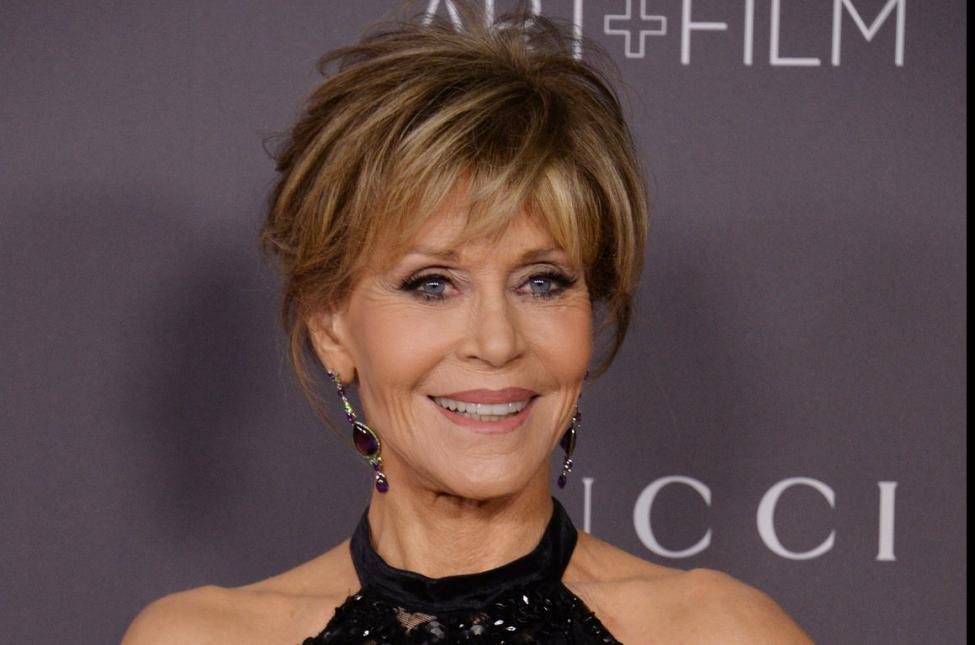 Actress Jane Fonda Back In Cuffs At Climate Change Protest