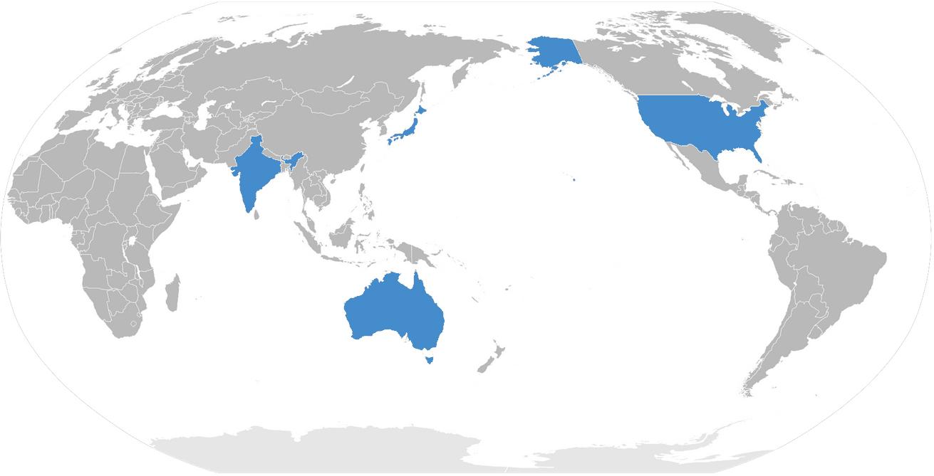 quad countries