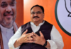 BJP Working President JP Nadda