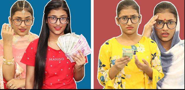 """Samreen Ali's new Youtube Video """"Life: Rich Vs Normal"""" is"""