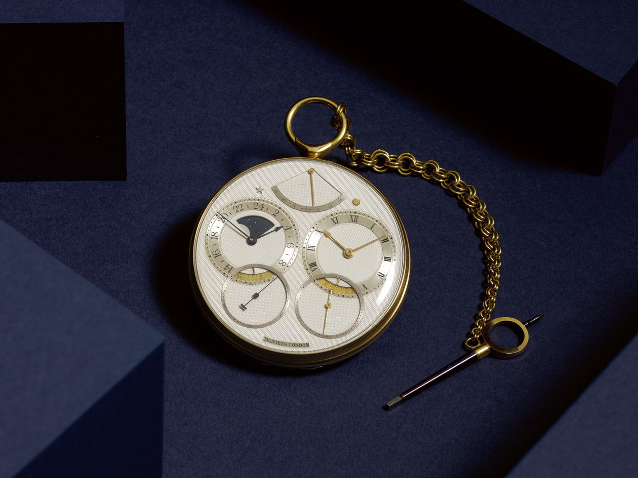 English pocket watch, Space Traveller I sells for record price at auction in London