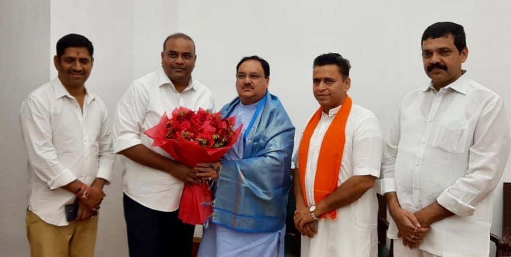 TDP MLC Joins BJP