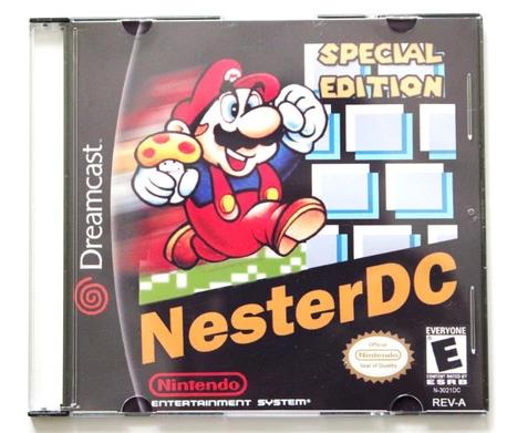 Nintendo's Nester DC emulator