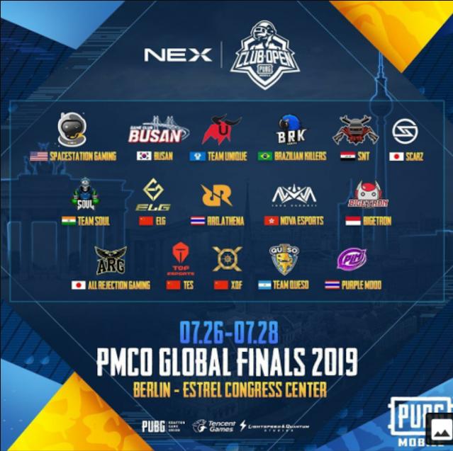 Final 16 team PMCO Finals