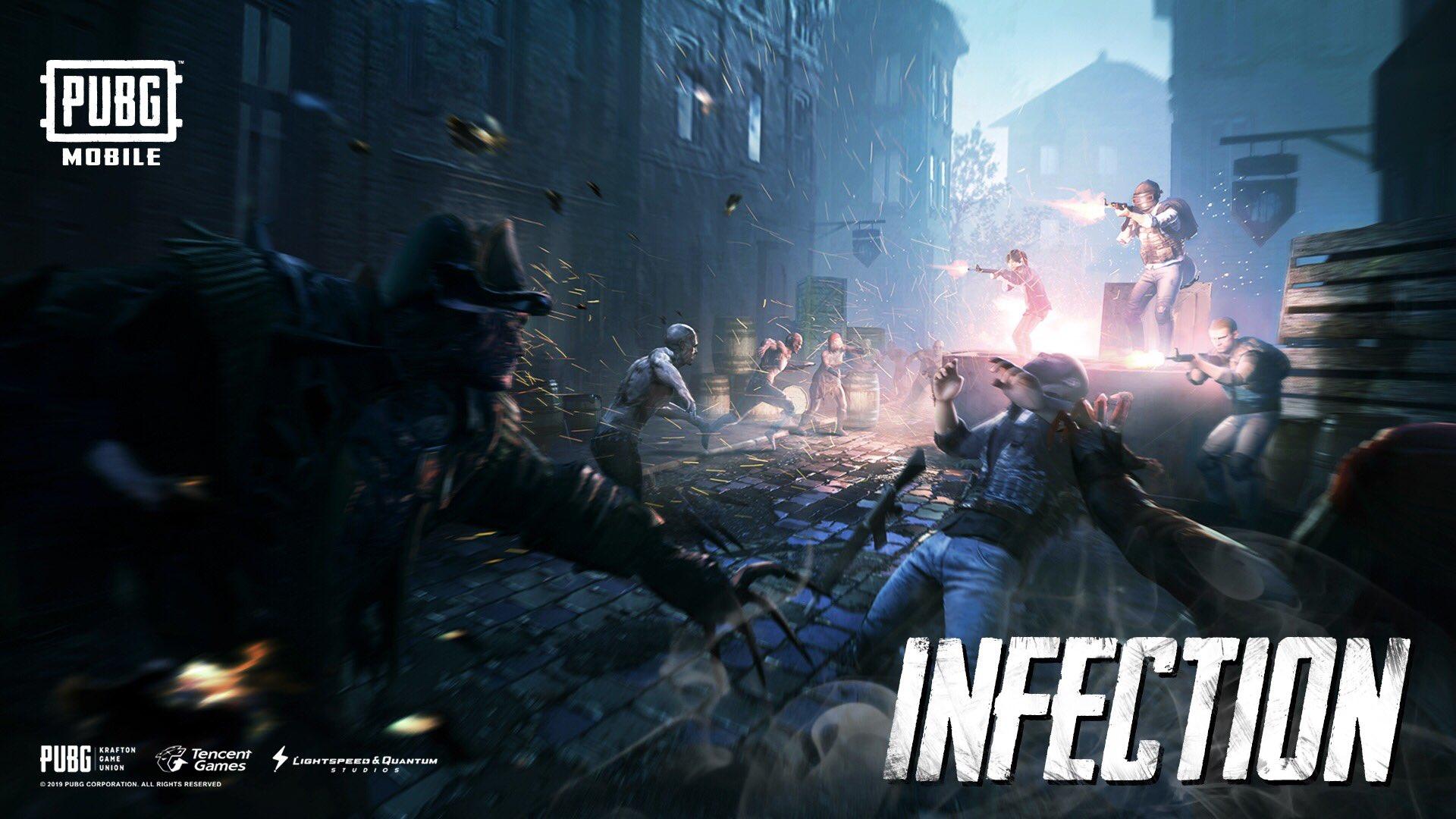 wallpaper pubg hd infection mode
