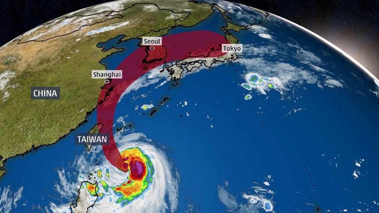 Typhoon Mitag