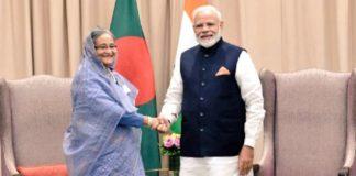 PM Modi meets Bangladesh PM on sidelines of UNGA 2019