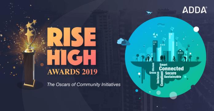 Rise high awards by adda.io