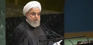 Hassan Rouhani delivers speech at UN sumit