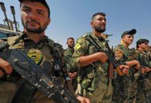 SYRIA Kurdish SDF/YPG