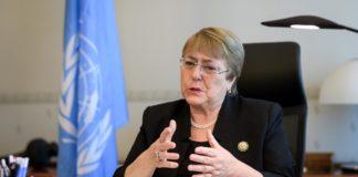 Michelle Bachelet (Photo: Fabrice Coffrini/Pool via REUTER)