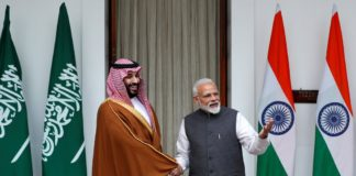 Saudi prince Mohammed Bin Salman taking relations forward with India