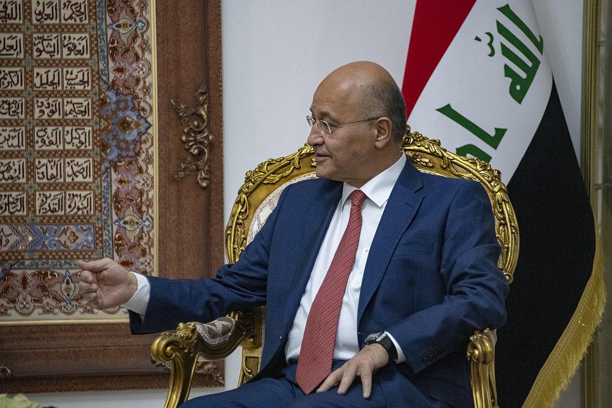 Iraq President Bahram Salih