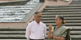 Narayan Murthy sudha murthy