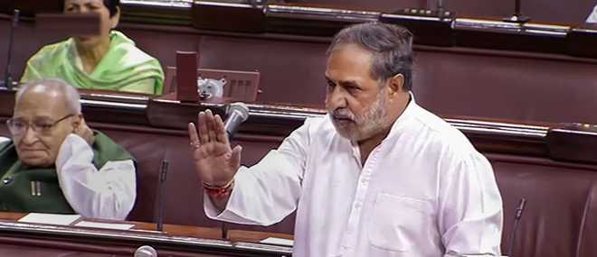 Anand Sharma in Parliament