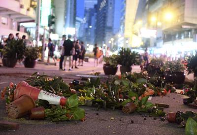 Hong Kong: More clashes leave 128 people injured and 260 arrested