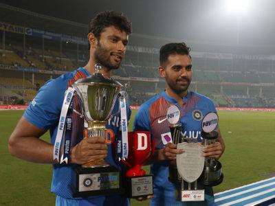 Shivam Dube & Deepak Chahar