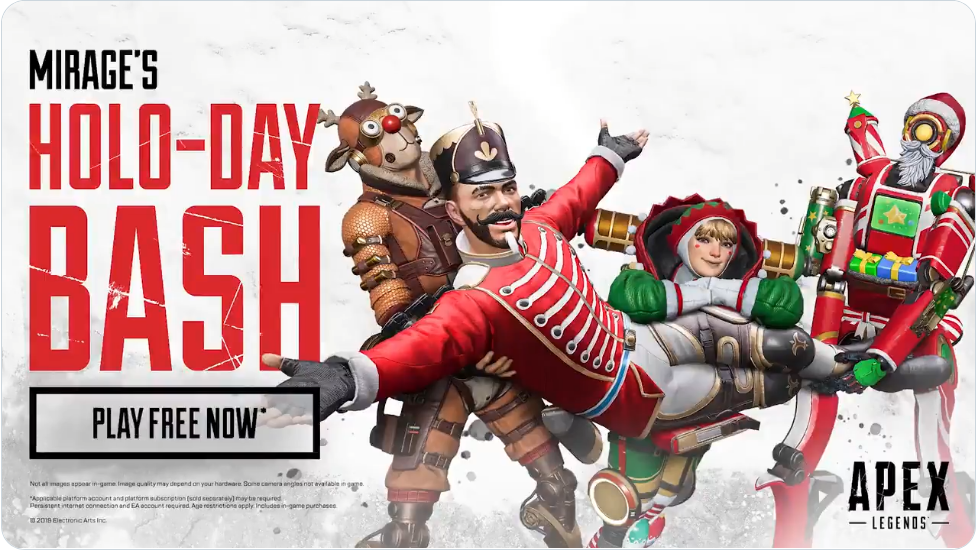 Apex Legends Holo Day Event Featuring Mirage
