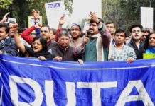 HRD Ministry Agrees To Amend Recruitment Rules After Meeting With Protesting DU Teachers