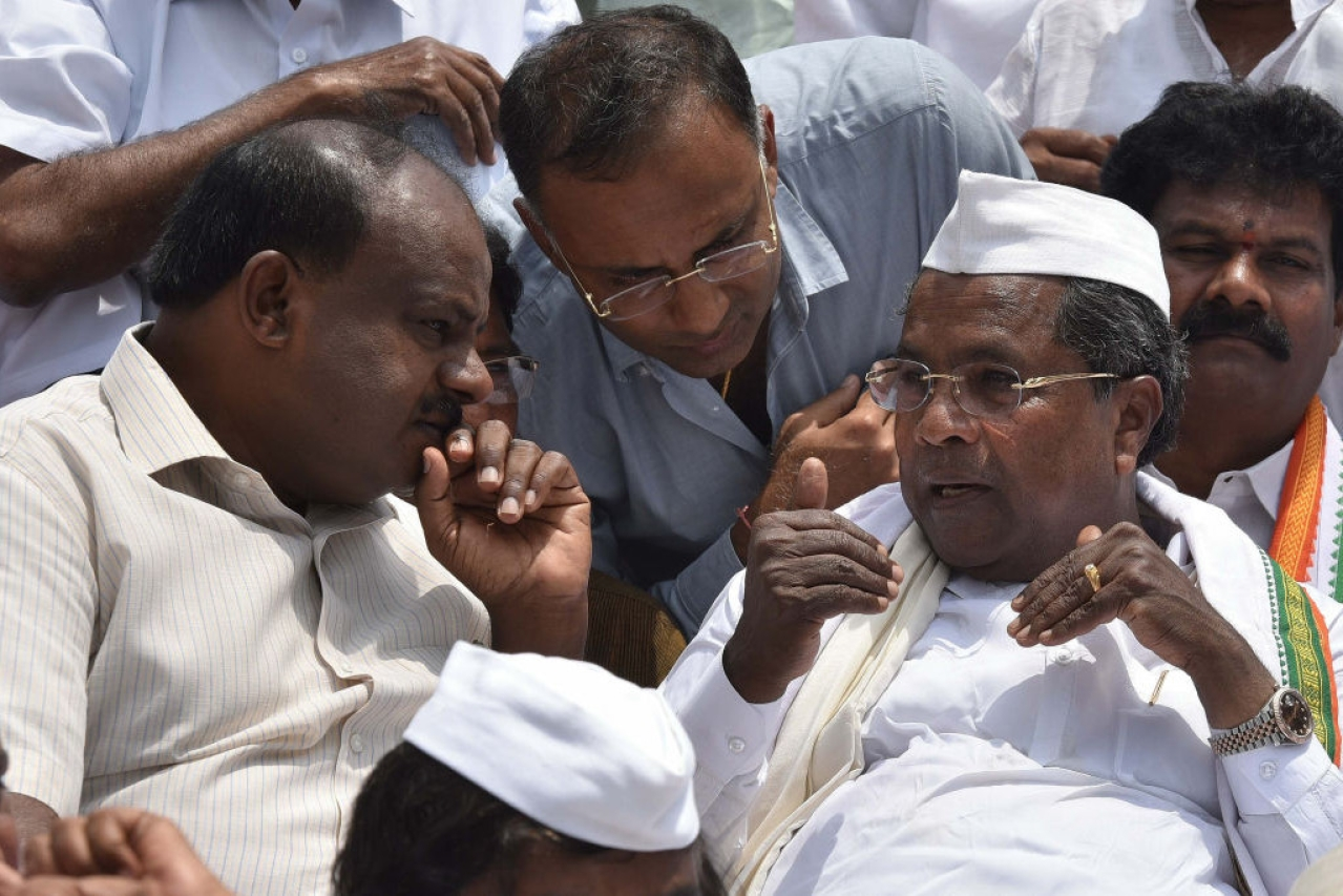 HD Kumaraswamy Sidaramaiah the indian wire