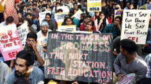 Protest Continues In JNU, Semester Exams Set To Begin Tomorrow