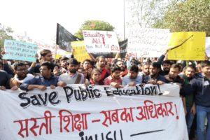 JNU Vice Chancellor Meets Students Representatives, Teachers; No Headway