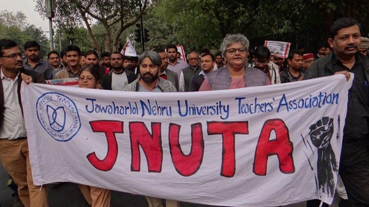 Student exam boycott gets JNUTA support