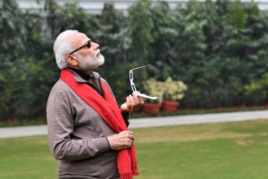PM Modi memes on solar eclipse