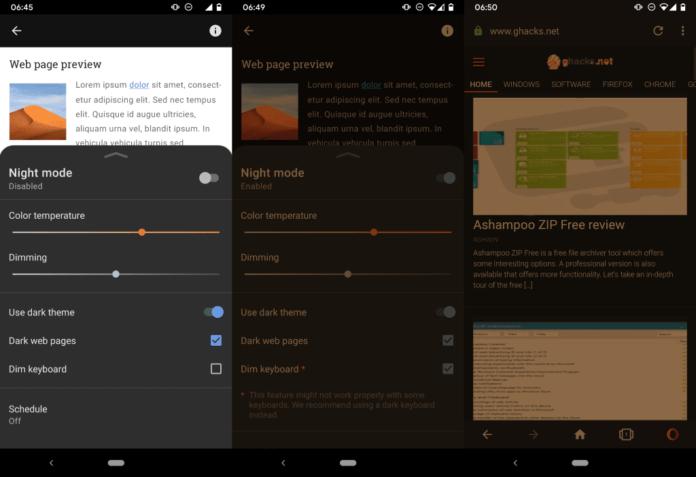Opera Browser with SuperDark Mode