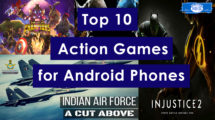 Top 10 Action games for Android