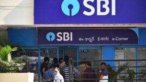 an SBI branch in South India