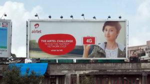 Airtel Billboard
