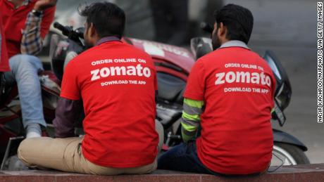 Image of zomato employees