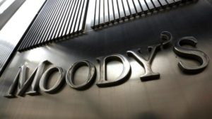 Image of Moody's wall-mounted company name