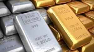Silver in comparison to gold(prices)