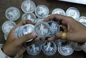 Rise in price of silver